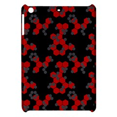 Red Digital Camo Wallpaper Red Camouflage Apple Ipad Mini Hardshell Case by Alisyart