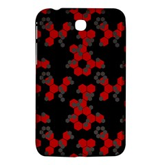 Red Digital Camo Wallpaper Red Camouflage Samsung Galaxy Tab 3 (7 ) P3200 Hardshell Case  by Alisyart