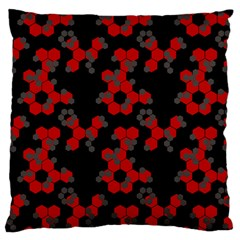 Red Digital Camo Wallpaper Red Camouflage Standard Flano Cushion Case (two Sides) by Alisyart