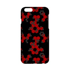 Red Digital Camo Wallpaper Red Camouflage Apple Iphone 6/6s Hardshell Case by Alisyart