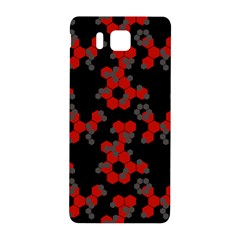 Red Digital Camo Wallpaper Red Camouflage Samsung Galaxy Alpha Hardshell Back Case by Alisyart