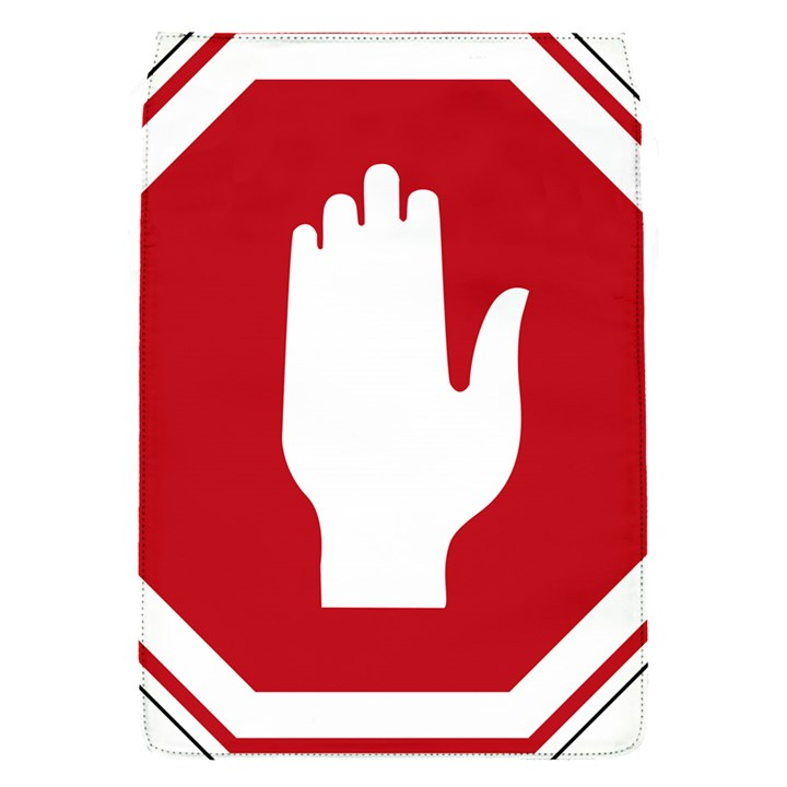 Road Sign Stop Hand Finger Flap Covers (S)