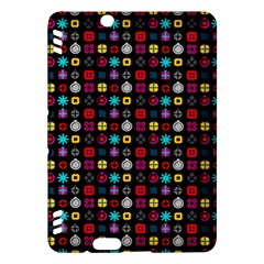N Pattern Holiday Gift Star Snow Kindle Fire Hdx Hardshell Case by Alisyart