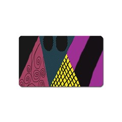 Sally Skellington Fabric Magnet (name Card) by Alisyart