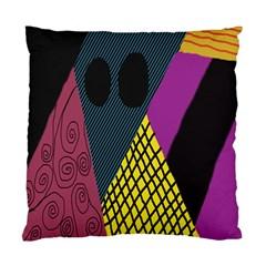 Sally Skellington Fabric Standard Cushion Case (one Side) by Alisyart