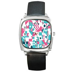 Poster Square Metal Watch by Alisyart