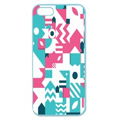 Poster Apple Seamless Iphone 5 Case (color) by Alisyart