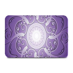 Purple Background With Artwork Plate Mats by Alisyart