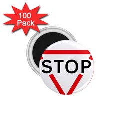Stop Sign 1 75  Magnets (100 Pack)  by Alisyart