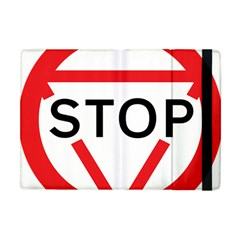 Stop Sign Apple Ipad Mini Flip Case by Alisyart