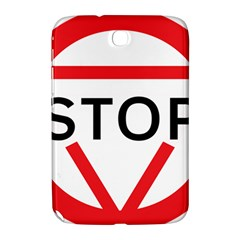 Stop Sign Samsung Galaxy Note 8 0 N5100 Hardshell Case  by Alisyart