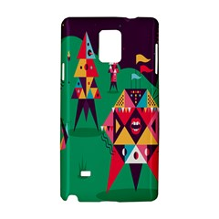 Studio Crafts Unique Visual  Projects Samsung Galaxy Note 4 Hardshell Case by Alisyart