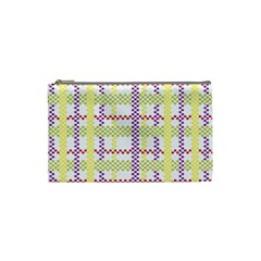Webbing Plaid Color Cosmetic Bag (small)  by Alisyart