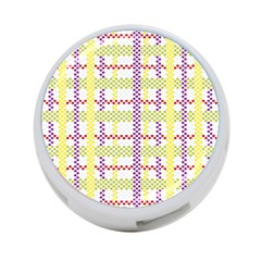 Webbing Plaid Color 4 Port Usb Hub (one Side) by Alisyart