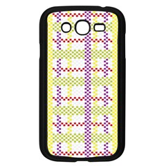 Webbing Plaid Color Samsung Galaxy Grand Duos I9082 Case (black) by Alisyart