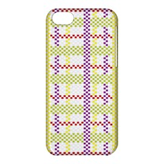 Webbing Plaid Color Apple Iphone 5c Hardshell Case by Alisyart