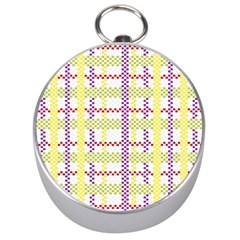 Webbing Plaid Color Silver Compasses by Alisyart