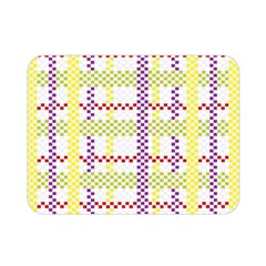 Webbing Plaid Color Double Sided Flano Blanket (mini)  by Alisyart