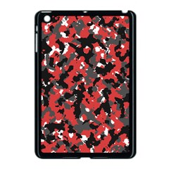Spot Camuflase Red Black Apple Ipad Mini Case (black) by Alisyart