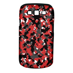 Spot Camuflase Red Black Samsung Galaxy S Iii Classic Hardshell Case (pc+silicone) by Alisyart