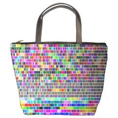 Plasma Gradient Phalanx Bucket Bags