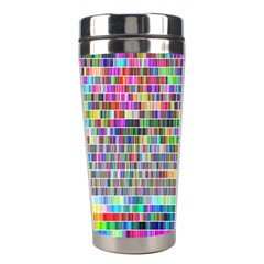 Plasma Gradient Phalanx Stainless Steel Travel Tumblers by Simbadda