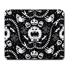 Wrapping Paper Nightmare Monster Sinister Helloween Ghost Large Mousepads by Alisyart