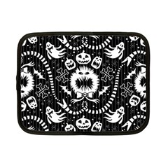 Wrapping Paper Nightmare Monster Sinister Helloween Ghost Netbook Case (small)  by Alisyart