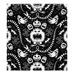 Wrapping Paper Nightmare Monster Sinister Helloween Ghost Shower Curtain 66  X 72  (large)  by Alisyart