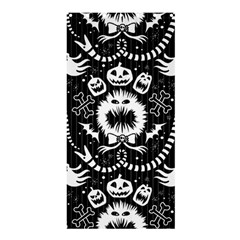 Wrapping Paper Nightmare Monster Sinister Helloween Ghost Shower Curtain 36  X 72  (stall)  by Alisyart
