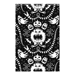 Wrapping Paper Nightmare Monster Sinister Helloween Ghost Shower Curtain 48  X 72  (small)  by Alisyart