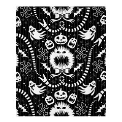 Wrapping Paper Nightmare Monster Sinister Helloween Ghost Shower Curtain 60  X 72  (medium)  by Alisyart