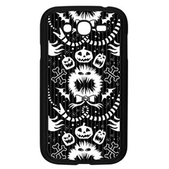 Wrapping Paper Nightmare Monster Sinister Helloween Ghost Samsung Galaxy Grand Duos I9082 Case (black) by Alisyart