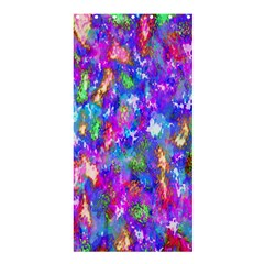 Abstract Trippy Bright Sky Space Shower Curtain 36  X 72  (stall)  by Simbadda