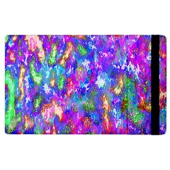 Abstract Trippy Bright Sky Space Apple Ipad 2 Flip Case by Simbadda