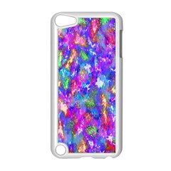 Abstract Trippy Bright Sky Space Apple Ipod Touch 5 Case (white) by Simbadda