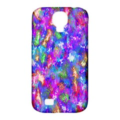 Abstract Trippy Bright Sky Space Samsung Galaxy S4 Classic Hardshell Case (pc+silicone) by Simbadda
