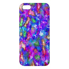 Abstract Trippy Bright Sky Space Iphone 5s/ Se Premium Hardshell Case by Simbadda