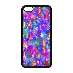 Abstract Trippy Bright Sky Space Apple Iphone 5c Seamless Case (black) by Simbadda