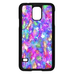 Abstract Trippy Bright Sky Space Samsung Galaxy S5 Case (black) by Simbadda