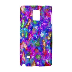 Abstract Trippy Bright Sky Space Samsung Galaxy Note 4 Hardshell Case by Simbadda
