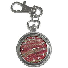 Scaly Pattern Colour Green Pink Key Chain Watches by Alisyart