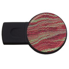 Scaly Pattern Colour Green Pink Usb Flash Drive Round (2 Gb) by Alisyart