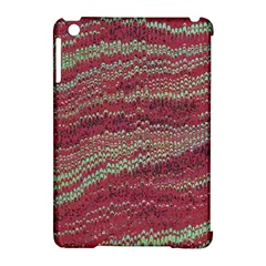 Scaly Pattern Colour Green Pink Apple Ipad Mini Hardshell Case (compatible With Smart Cover) by Alisyart