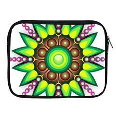 Design Elements Star Flower Floral Circle Apple Ipad 2/3/4 Zipper Cases by Alisyart