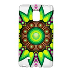 Design Elements Star Flower Floral Circle Galaxy Note Edge by Alisyart