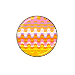 Dna Early Childhood Wave Chevron Rainbow Color Hat Clip Ball Marker by Alisyart