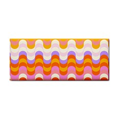 Dna Early Childhood Wave Chevron Rainbow Color Cosmetic Storage Cases by Alisyart