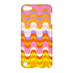 Dna Early Childhood Wave Chevron Rainbow Color Apple Ipod Touch 5 Hardshell Case by Alisyart