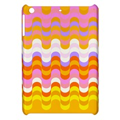 Dna Early Childhood Wave Chevron Rainbow Color Apple Ipad Mini Hardshell Case by Alisyart